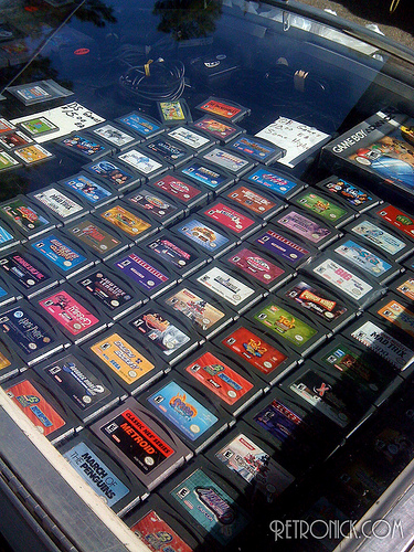 Seriously, have you ever been to a flea market where there were this many games, that clean, and under glass? How about any of those circumstances by itself even? Probably not.