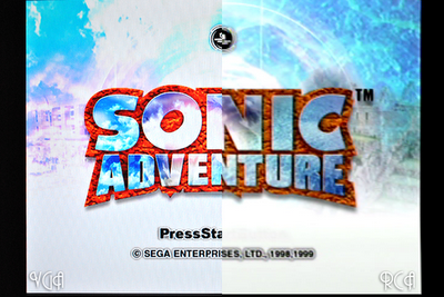 I thought I knew you Sonic Adventure...