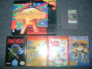 EarthBound, Stadium Events and Cheetahmen! This guy has everything!