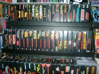 I think it's a safe bet that John's SNES collection rivals your whole collection.