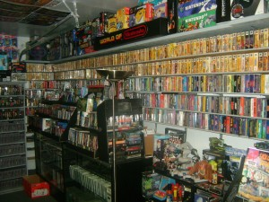 His shelving system is not unlike eStarland's.