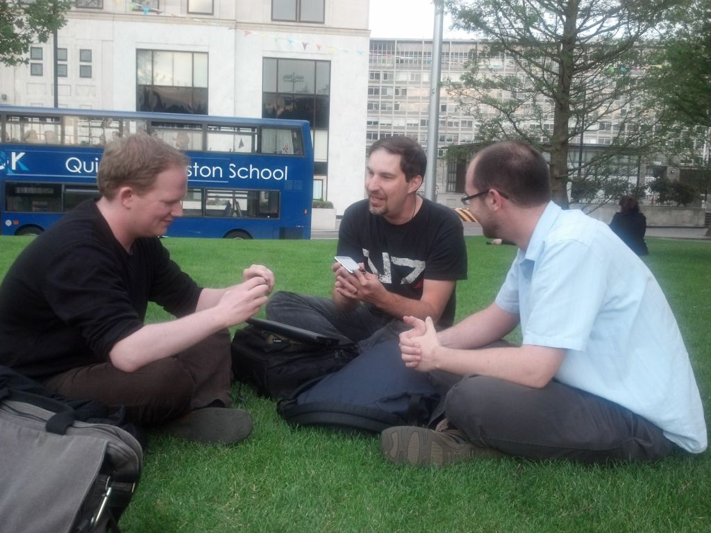 Steve meets up with RetroNick Radio Listeners @James_Hare and @NES_4Life in their native land of London England! Fun Fact for the kids at home! This is the only episode of RetroNick Radio that Nick doesn't chime in on. Also, this was done super-guerilla-style on an old iPhone 3G in a...