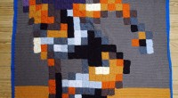 In a world were everyone and their grandmother has made a Super Mario Bros. World 1-1 scarf, afghan, tapestry, or diorama, it's refreshing to see the 16-bit era get its due with this insane bit-art Afghan of Laura from Dracula X: The Rondo of Blood, for the PC Engine Super...