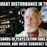 The Playstation 4 is like The Force: invisible.